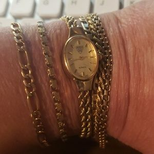 14kt solid gold watch